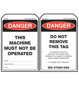 EDT004-Stock-Stock-Card-Tags-Economy-Danger-Tag-Machine-Must-Not-Be-Operated-Tag