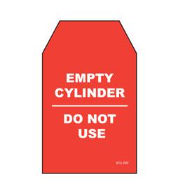 Empty Cylinder Tag - STA020