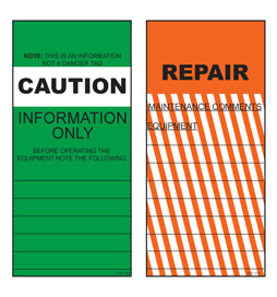 Caution Repair Tag - STA103