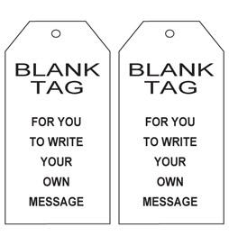 Blank Tag - STA009
