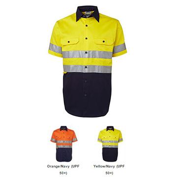 Work Wear - Hi Vis Light Weight Workshirt with Tape