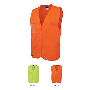 Work Wear - Hi Vis Zip Safety Vest