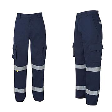 Work Wear - Mercerised Multi Pocket Pant with Tape