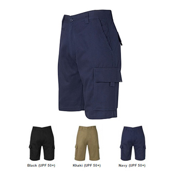 Work Wear - Mercerised Work Cargo Short