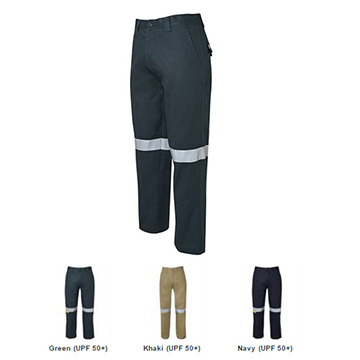 Work Wear - Mercerised work Trouser with Tape