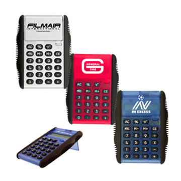 Promotional Desk Accessories - C101 Flip Cover Calculator