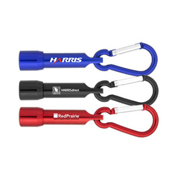 Promotional Torches - K57 Carabiner LED Torch