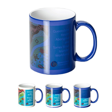 Promotional Drinkware - Magic Sublimation Can Mug