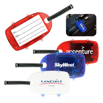 Promotional Auto and Travel - T485 Light Up Luggage Tag