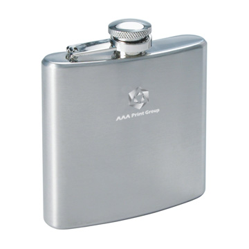 Drinkware Accessories - R5027 Turin Hip Flask