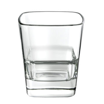 Drinkware Glassware - Palladio Sq Stack DOF 350ML