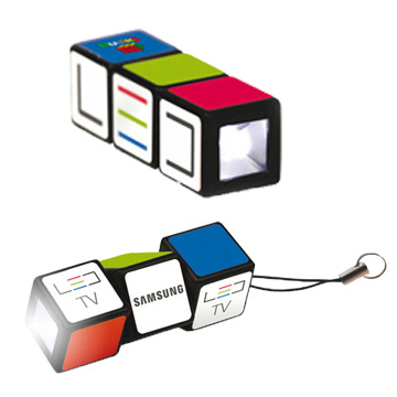 Promotional Toys - Rubiks Flashlight