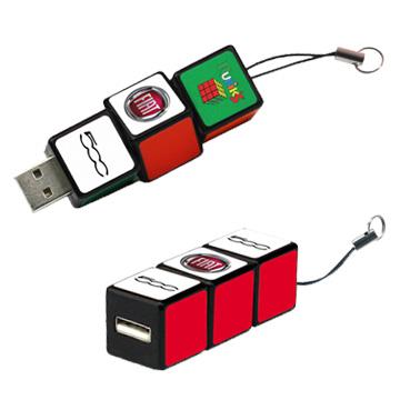 Promotional Toys - Rubiks USB