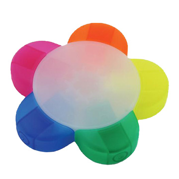 Promotional Desk Accessories - P76 Flower Highlighter