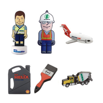 Promotional USB Flash Drives - Custom Shaped Flash Drives