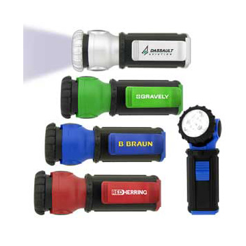 Promotional Torches - L342 Mini Swivel Head Torch