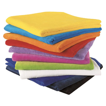 Promotional Towels - M100 Terry Velour Towel