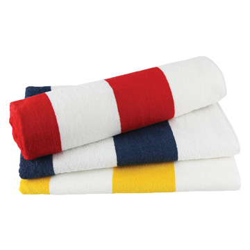 Promotional Towels - M135 Striped Towel