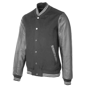 Jackets - Art Leather Baseball Jacket