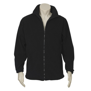 Jackets - Plain Microfleece Jacket