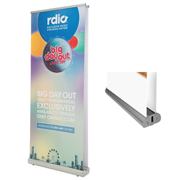 Promotional Exhibition - Luxury Double Sided Pull Up Banner