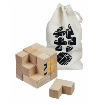Promotional Toys - Wooden Brainteaser