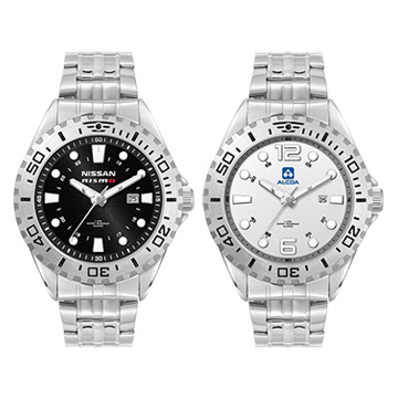 Promotional Clocks - W5107S-SS Watch