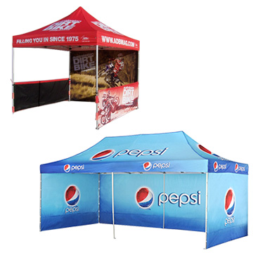 Promotional Exhibition - Marquees With Walls