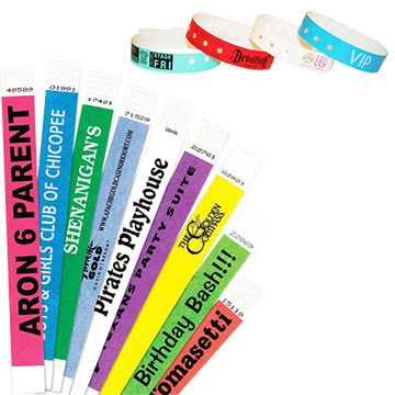 Promotional Exhibition - Tyvek Wristbands