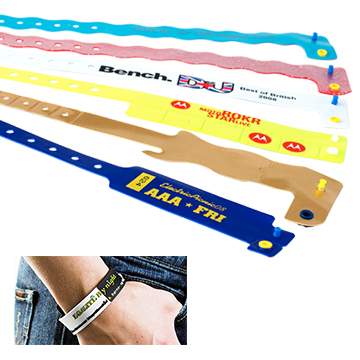 Promotional Exhibition - Vinyl Wristbands