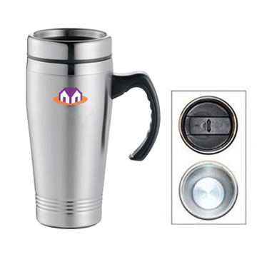 Drinkware Accessories - M10 Double Wall Stainless Steel Travel Mug 475ML
