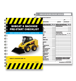 Pre-Start Checklist - Bobcat and Backhoe - PSC 005