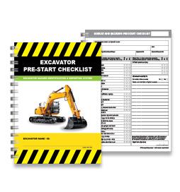 Pre-Start Checklist - Excavator - PSC 004