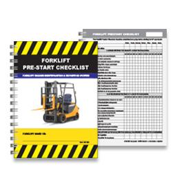 Pre-Start Checklist - Forklift - PSC 003
