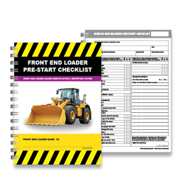 Pre-Start Checklist - Front End Loader - PSC 006