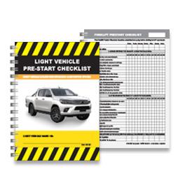 Pre-Start Checklist - Light Vehicle - PSC 001