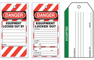 STOCK TAMPER PROOF TAGS